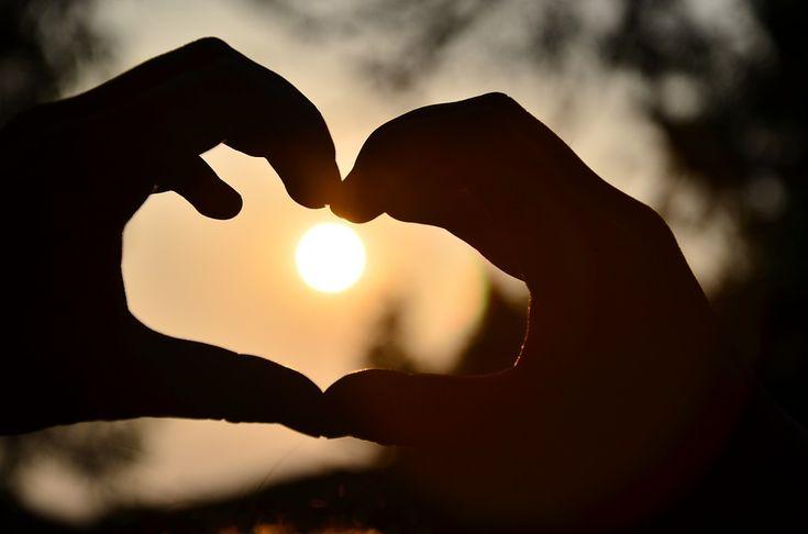 Heart, Varm, Belysning, Smukke, Hånd, Ikon, Kærlighed