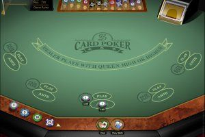 Casino card game online