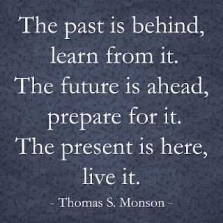 Past, Future, and Present - by Thomas S. Monson. Mormon Prophet