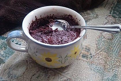 Schneller Schokoladen-Nutella-Tassenkuchen (Rezept mit Bild) | Chefkoch.de