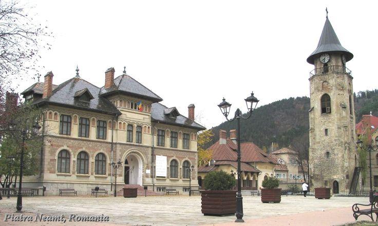 Piatra Neamt city » Piatra Neamt Romania Royal court of Stephen the Great ...