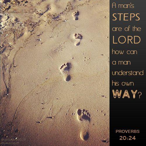 Proverbs 20:24 | Proverbs 20:24 | JASONSTUFF