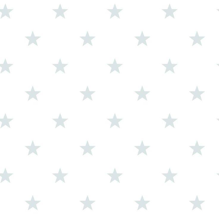Noordwand Sterrenbehang in vergrijsd blauw groen wit Ster behang wallpaper long island nautic star stars eigewijz www.eigewijz.nl