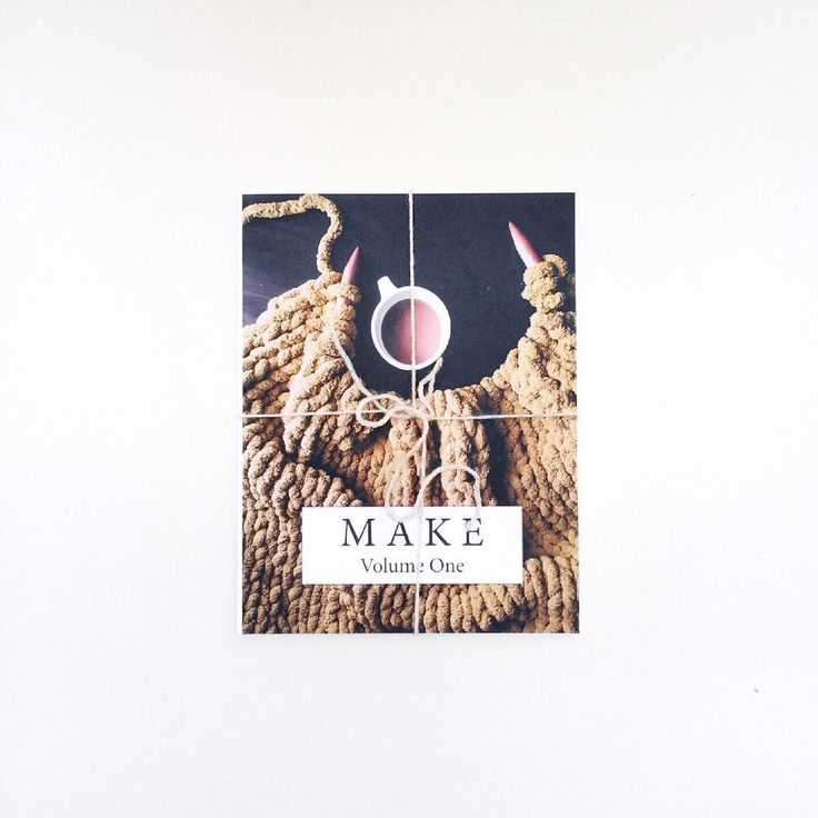 Our Maker Life - MAKE Volume 1 » coffee table book