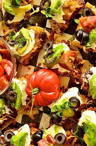Black Bean Mexican Pizza reluctantentertainer.com