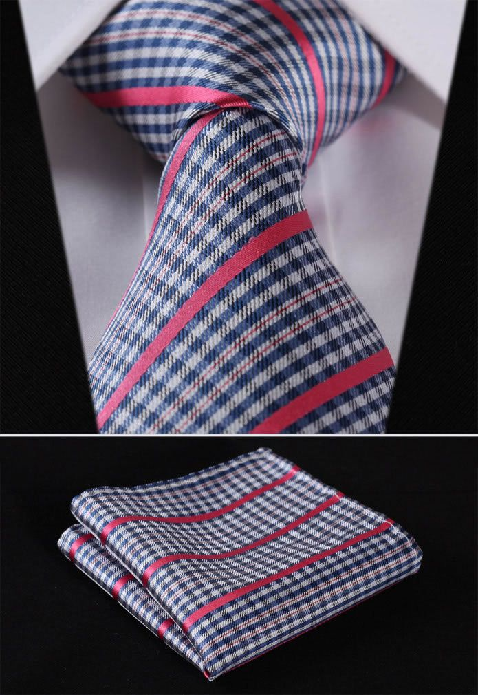 Item Type: Ties is_customized: Yes Pattern Type: Plaid Department Name: Adult Gender: Men Style: Fashion Material: Silk Size: One Size Ties Type: Neck Tie Set Place of Origin: Guangdong, China (Mainla