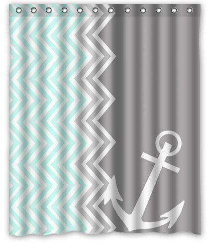 Personalized Funny Chevron Anchor Machine Washable Super Soft Shower Curtain 60'(w)x72'(h) Shower Curtain http://www.amazon.com/dp/B00LL3XQRE/ref=cm_sw_r_pi_dp_lMFgub10JM2WY