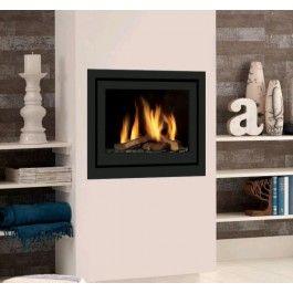 De #GlobalFires 60i CF is de ideale inzethaard voor een bestaande situatie. #Gashaard #Gaskachel #Kampen #Interieur #Fireplace #Fireplaces
