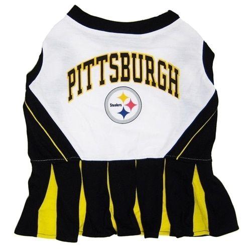 First Pittsburgh Steelers Cheerleader Dog Dress