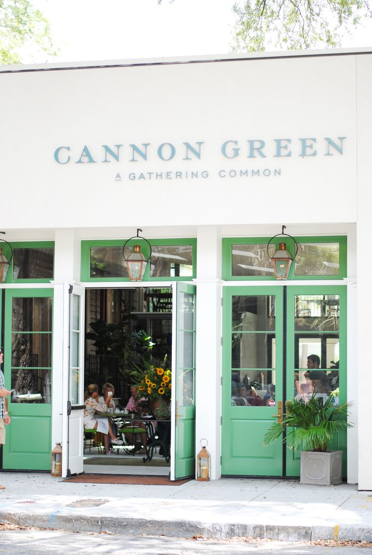 Where to brunch in Charleston, SC : Cannon Green Restaurant