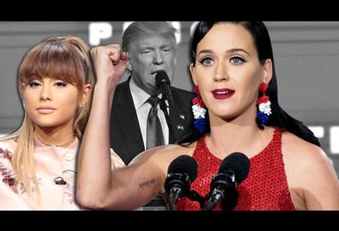 Katy Perry Calls For An Uprising, Ariana Grande In Tears: Celebs React To Donald Trump?s Presidential Election Win | MTV UK