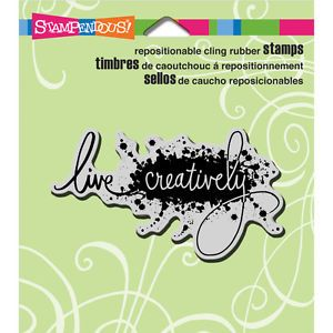 Stampendous-Cling-Stamp-3-5-X4-Live-Creatively