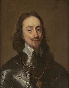 Charles I (1640).------------ Durante la Guerra Civil Inglesa, en la cual su padre se enfrentó con las fuerzas del Parlamento, él permaneció en la ciudad de Oxford, entonces una plaza fuerte de los realistas.