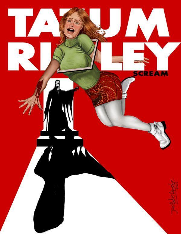 NO SEQUEL FOR TATUM - SCREAM - uno de mis personajes favoritos de mis peliculas favoritas, TATUM RILEY interpretado por ROSE MCGOWAN