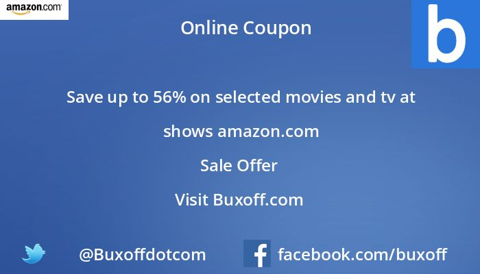 Latest amazon Coupon on Buxoff Visit to know more