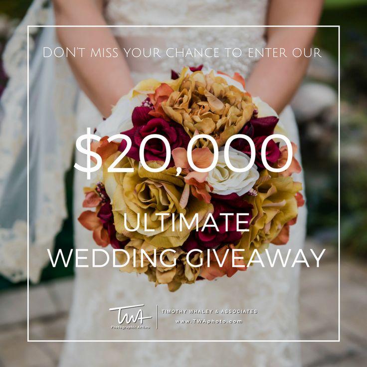 Enter The $20,000.00 TWA Ultimate Wedding Giveaway!