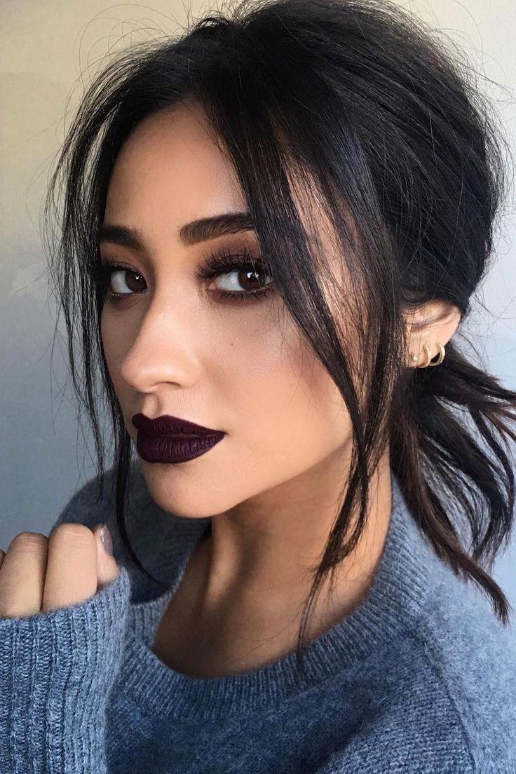 10 Celebrity-Inspired Dark Lips and Tips for Wearing Dark Lipstick | Teen Vogue