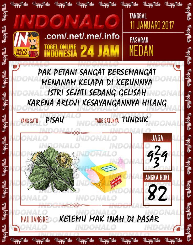 Kode Kumat 3D Togel Wap Online Live Draw 4D Indonalo Medan 11 Januari 2017