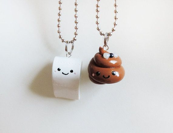 Kawaii Funny Poop and Toilet Paper Smiling Best by cbexpress, $24.00