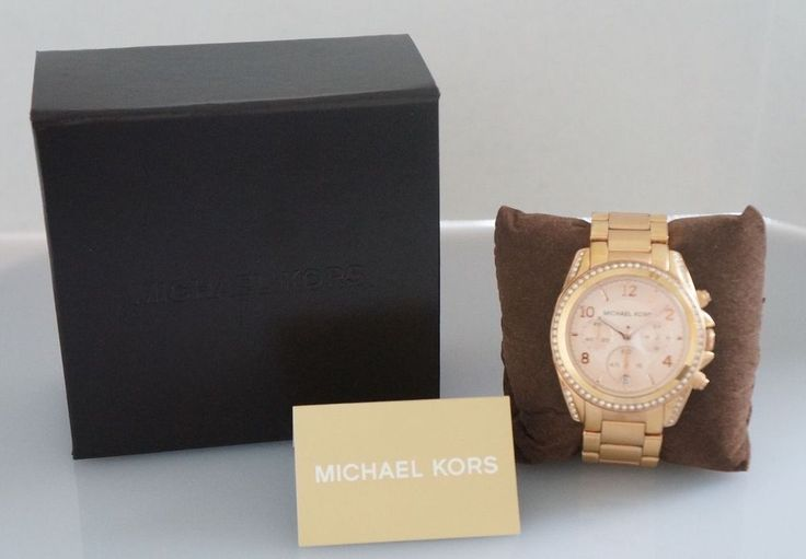 Women's Michael Kors Rose Gold Stainless Steel Watch MK-5263 #MichaelKors