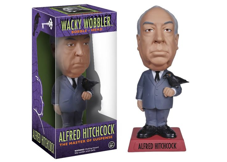 The Master of Suspense - Alfred Hitchcock Wacky Wobbler