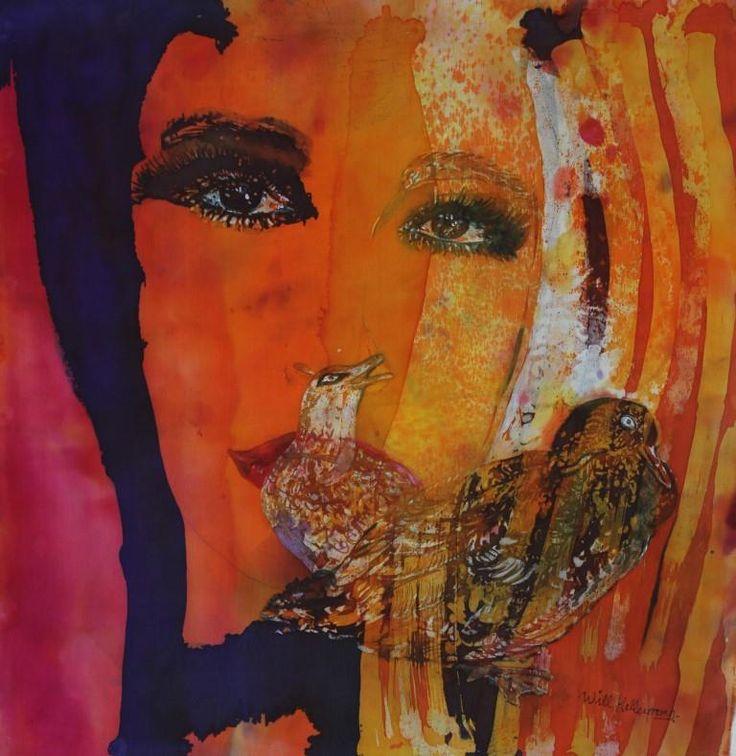... Schilderen Op Zijde op Pinterest - Schilderijen, Batik Kunst en Kunst