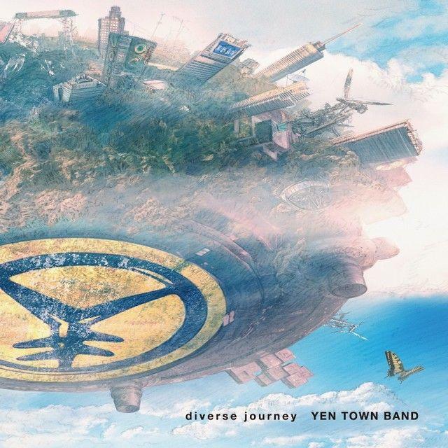YEN TOWN BAND「diverse journey」初回限定盤ジャケット