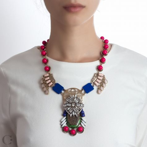 Statement :: Coliere Statement :: Colier Yvonne - Yvonne Statement Necklace :: See more at www.cassandras.ro