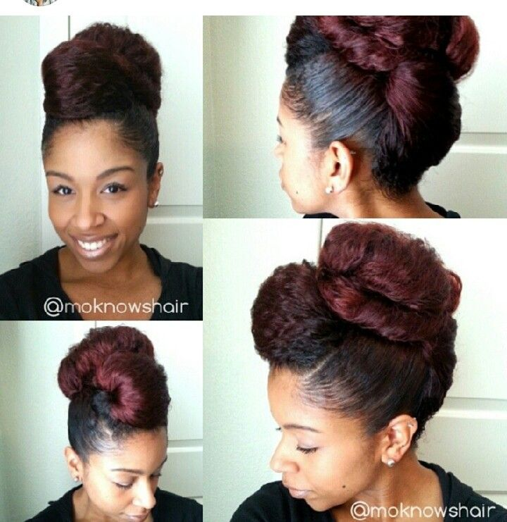 Protective Updo Styles For Natural Hair