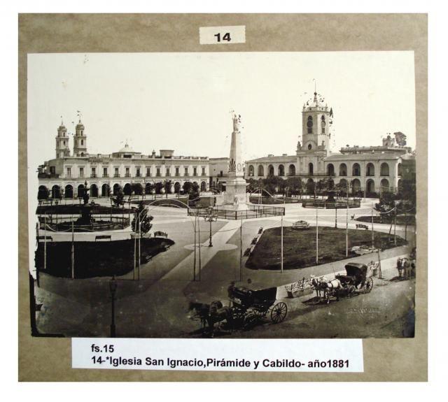 Iglesia San Ignacio, Pirámide y Cabildo