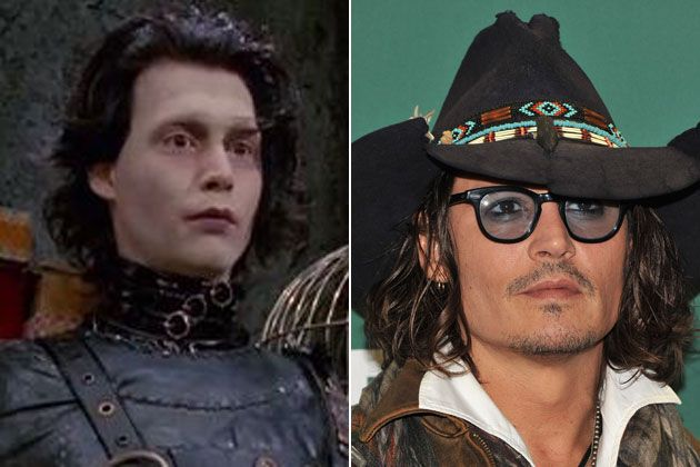 Then and Now: The Cast of Edward Scissorhands