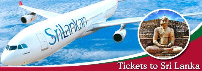 Tickets to Sri Lanka aboard SriLankan Airlines Economy Class