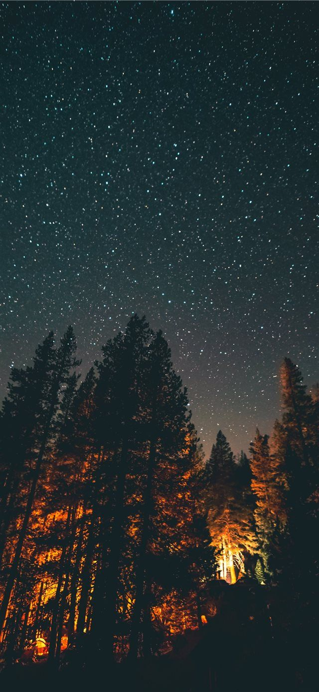 Nightlight Iphone X Wallpaper Night Sky Star Explore Iphone X