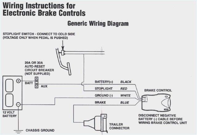 Tekonsha Brake Controller Wiring Di 4, Tekonsha Trailer Brake Controller Wiring Diagram