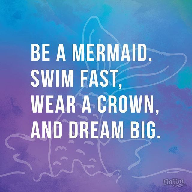 Dream BIG Fin Fans! The future belongs to those who believe in the beauty of their dreams. - Eleanor Roosevelt
