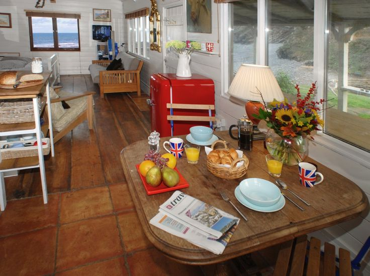 La cabane de plage de luxe Gîte à Cornwall, Luxury Self-Catering Beach Hut Cornwall