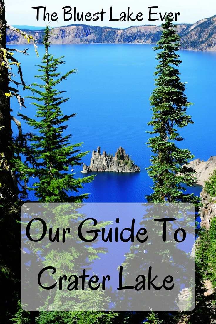 Crater Lake is a wonderful masterpiece of volcanism and one of the bluest, clearest lakes on Earth. Also, it's a perfect excuse to visit and explore Oregon.
