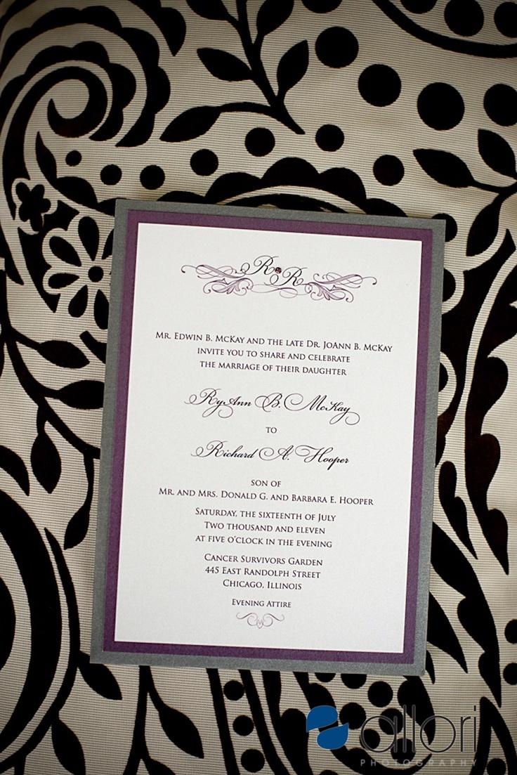 16 Best Wedding Invitations Images On Pinterest Bridal Invitations
