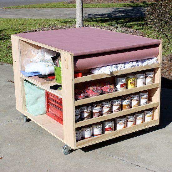 25 best garage workbench plans ideas on pinterest for Build your own garage plans free