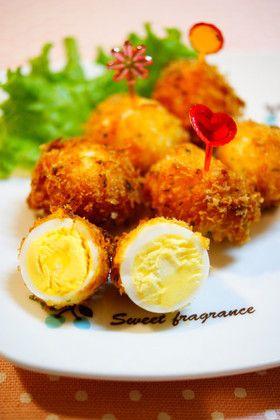 ✿うずら卵のカレー味フライ✿