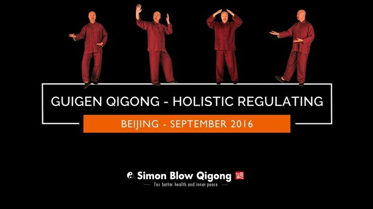 Practicing Guigen Qigong In The Park - Beijing - Section 1 - Holistic Regulating Simon Blow Qigong China Qigong Study Tour Sept 2016. http://www.simonblowqigong.com     IN THIS VIDEO: Practicing Guigen Qigong in the park by the ancient Yuan Dynasty city wall near the 2008 Olympic village in Beijing.     The purpose of this section is to redistribute and re-root the unbalanced Qi. This can help with conditions caused by stagnating Qi in upper area