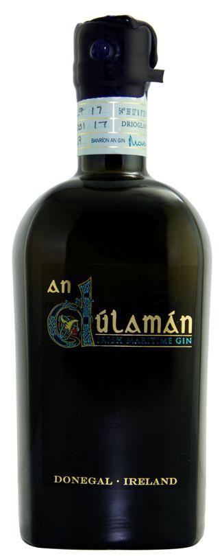 50cl bottle image of the New Irish Maritime Gin, An Dulaman