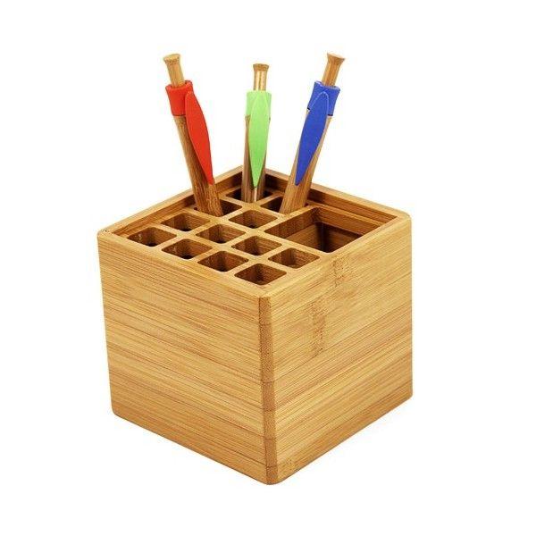 Pot à crayons ROOTS - Cadeau d'entreprise écologique en bambou
