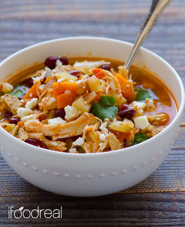 Crock Pot Buffalo Chicken Chili Recipe - RecipeChart.com