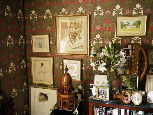 Mark Hearld - Harvest Hare - wallpaper   Artwork - Mark Hearld ...