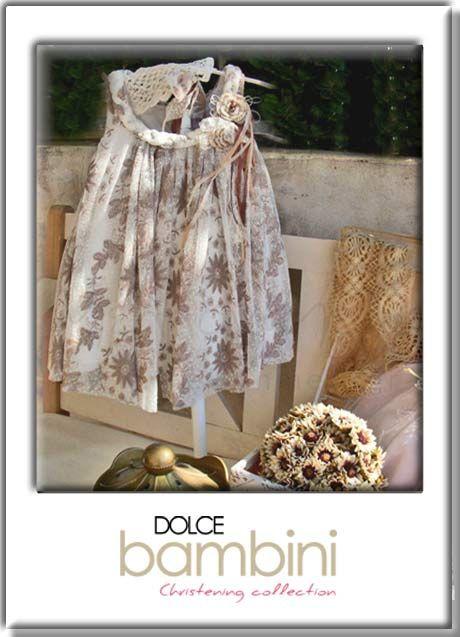 βαπτιστικό φόρεμα Dolce Bambini
