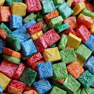 Sección Caramelos Masticables