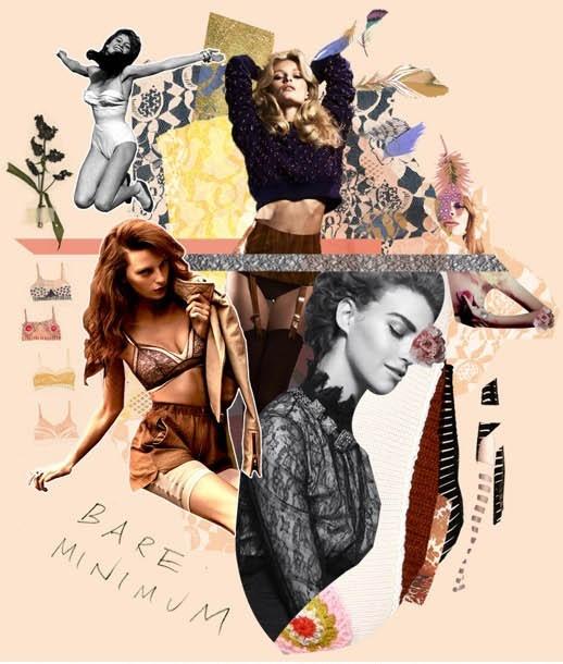 Fashion Moodboard - lingerie