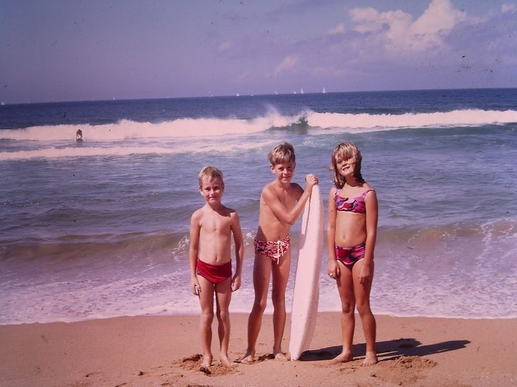 Surfing at Collaroy 1969