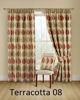 Cheap curtains, Montgomery Kyra Ready Made Curtains